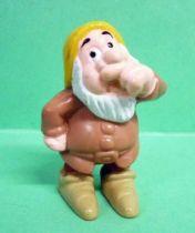 Blanche Neige - Figurine PVC Disney Home Video - le nain Atchoum