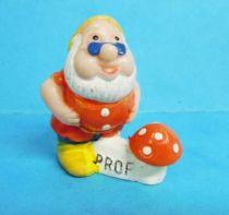 Blanche Neige - Figurine PVC Premium - le nain Prof