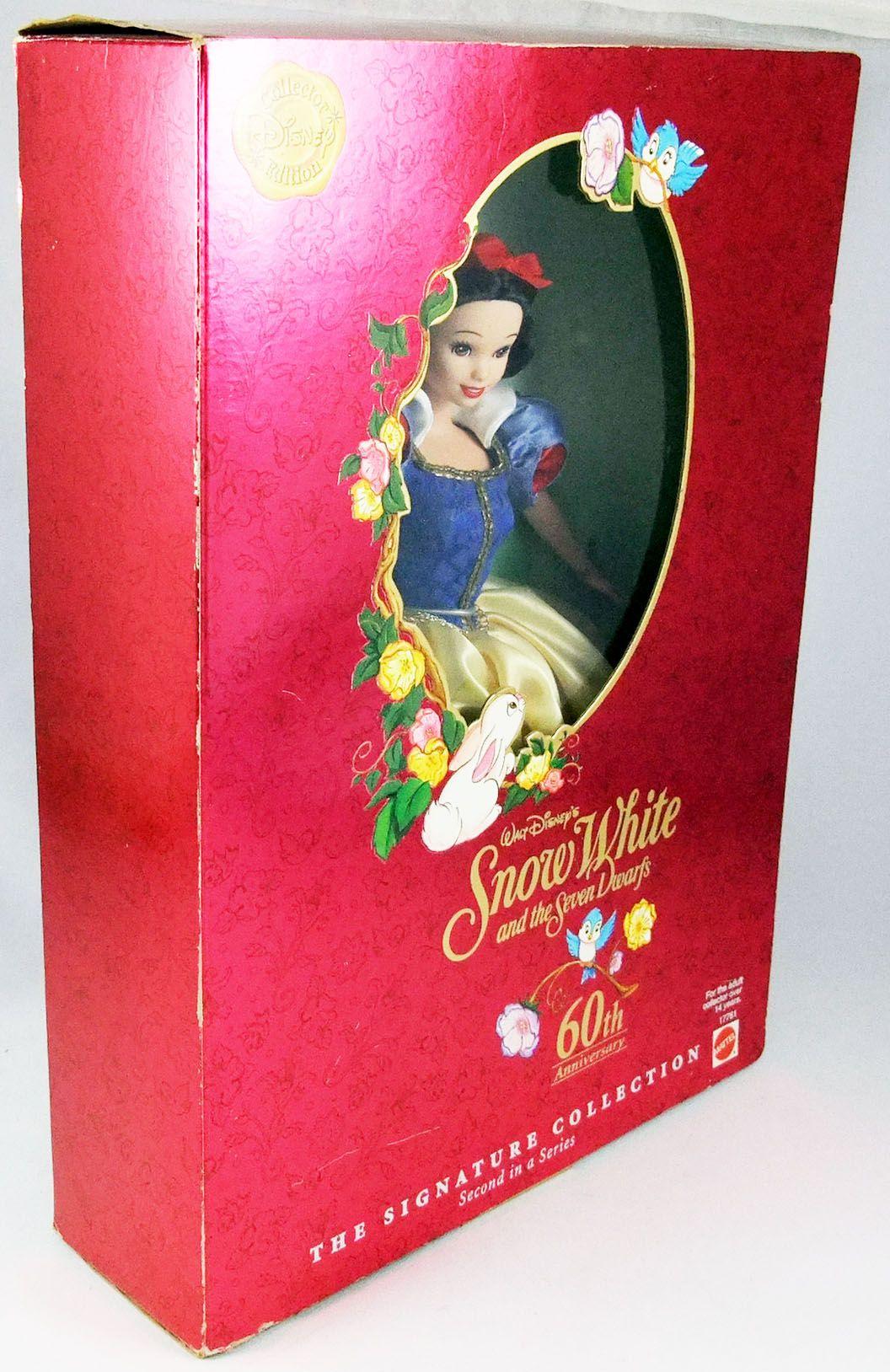 """Blanche Neige - Mattel - Poupée mannequin \""""The Signature Collection\"""" 1997 (ref.17761)"""