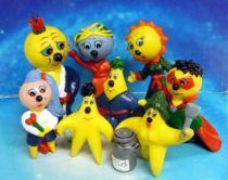 Blue Eyes Superstar - Schleich - Set of 8 PVC figures