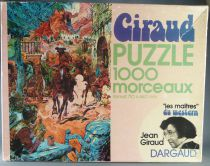 Blueberry - 1974 Dargaud Jean Giraud - 1000 Pieces Jigsaw Puzzle Complete