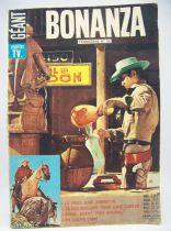 Bonanza Vedettes T.V. Géant trimestriel n°36 1969 - Sagédition