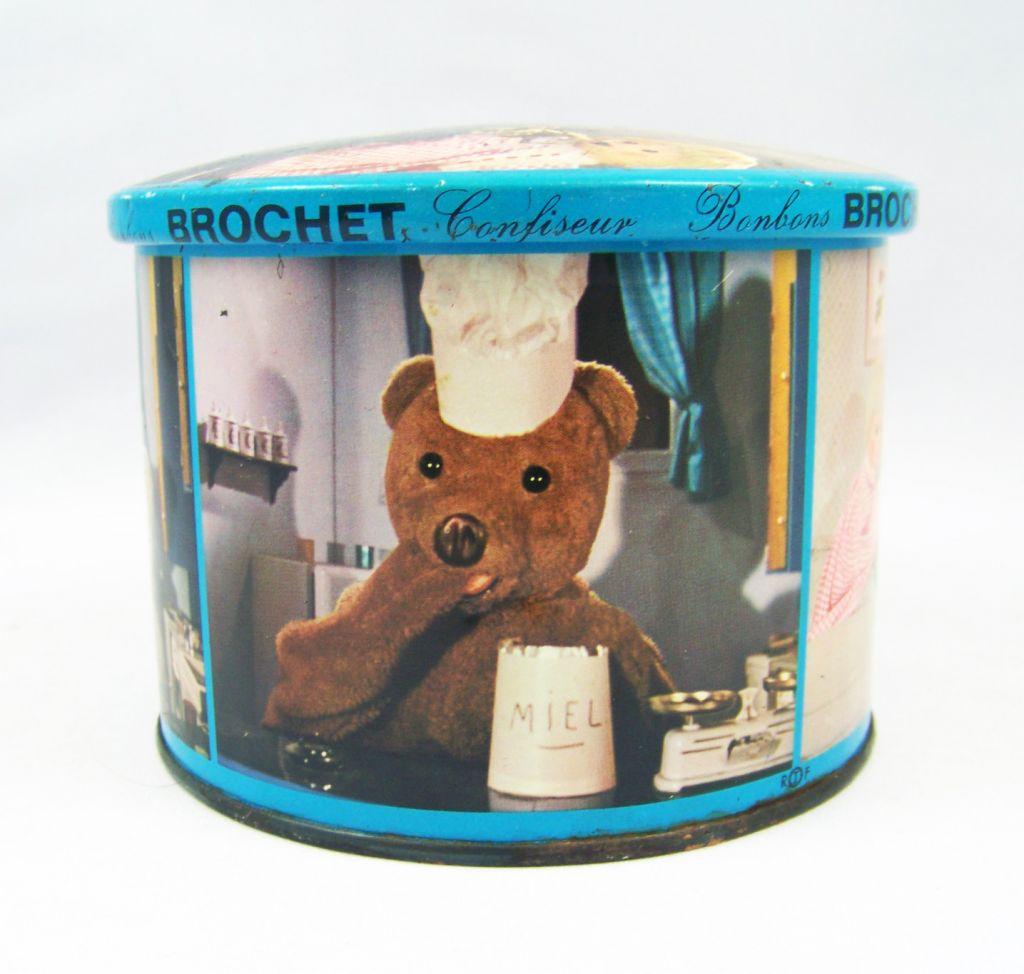 Bonne Nuit les Petits - Boite en tole bleue Brochet 03