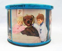 Bonne Nuit les Petits - Boite en tole bleue Brochet 04