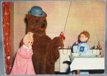 Bonne Nuit les Petits - Carte Postale Yvon - N°4 Nounours raconte une histoire à Nicolas & Pimprenelle