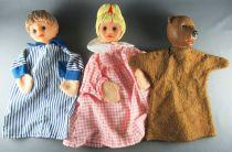 Bonne Nuit les Petits - Hand Puppets Petitcollin - Nicolas Pimprenelle Nounours