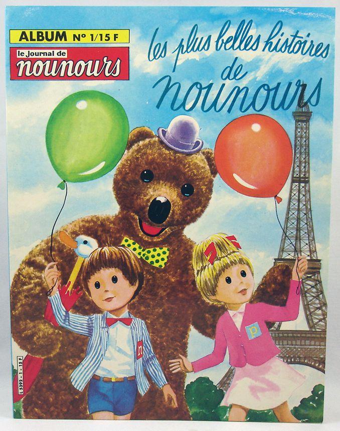 Bonne Nuit les Petits - Journal de Nounours Album n°1 - Editions Greantori 1982