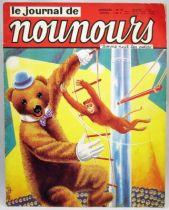 Bonne Nuit les Petits - Journal de Nounours Mensuel n°15 - ORTF 1966