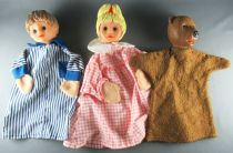 Bonne Nuit les Petits - Marionnettes à Main Petitcollin - Nicolas Pimprenelle Nounours