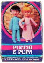 Bonne Nuit les Petits - Querzola Plastic Figures - Nicolas & Pimprenelle (mint in box)
