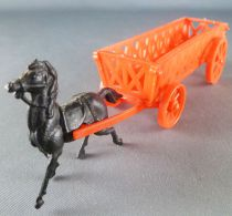 Bonux - The Farm -  Red Snap Fit Farm Wagon with horse
