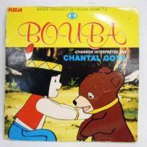 Bouba - Disque 45T+ livret - Bande originale du feuilleton télévisé (chantée par Chanta Goya) - RCA Records 1981