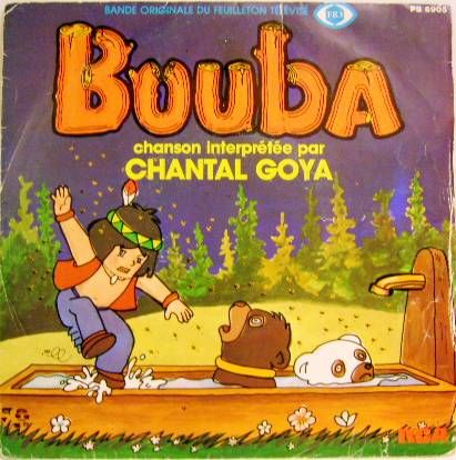 Bouba - Mini-LP Record - Original French TV series Soundtrack - RCA Records 1982
