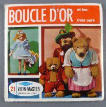 Boucle d\'Or et les 3 Ours - Pochette de 3 View Master 3-D