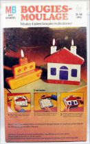 Bougies-Moulage (candle casting) - Art and craft activity set - Milton Bradley 1974
