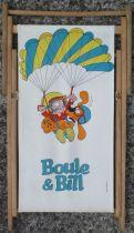 Boule & Bill - Children Long Chair Wood & Fabric