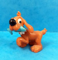 Boule & Bill - Figurine PVC Flunch - Bill avec poisson