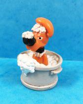 Boule & Bill - Figurine PVC Flunch - Bill dans le bain