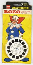 Bozo le Clown - Pochette de 3 View-Master 3-D (GAF)