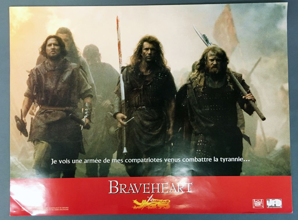 Braveheart - Set of 10 Posters / Lobby Cards