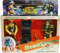 BraveStarr - Laser Fire Bravestarr & Tex Hex
