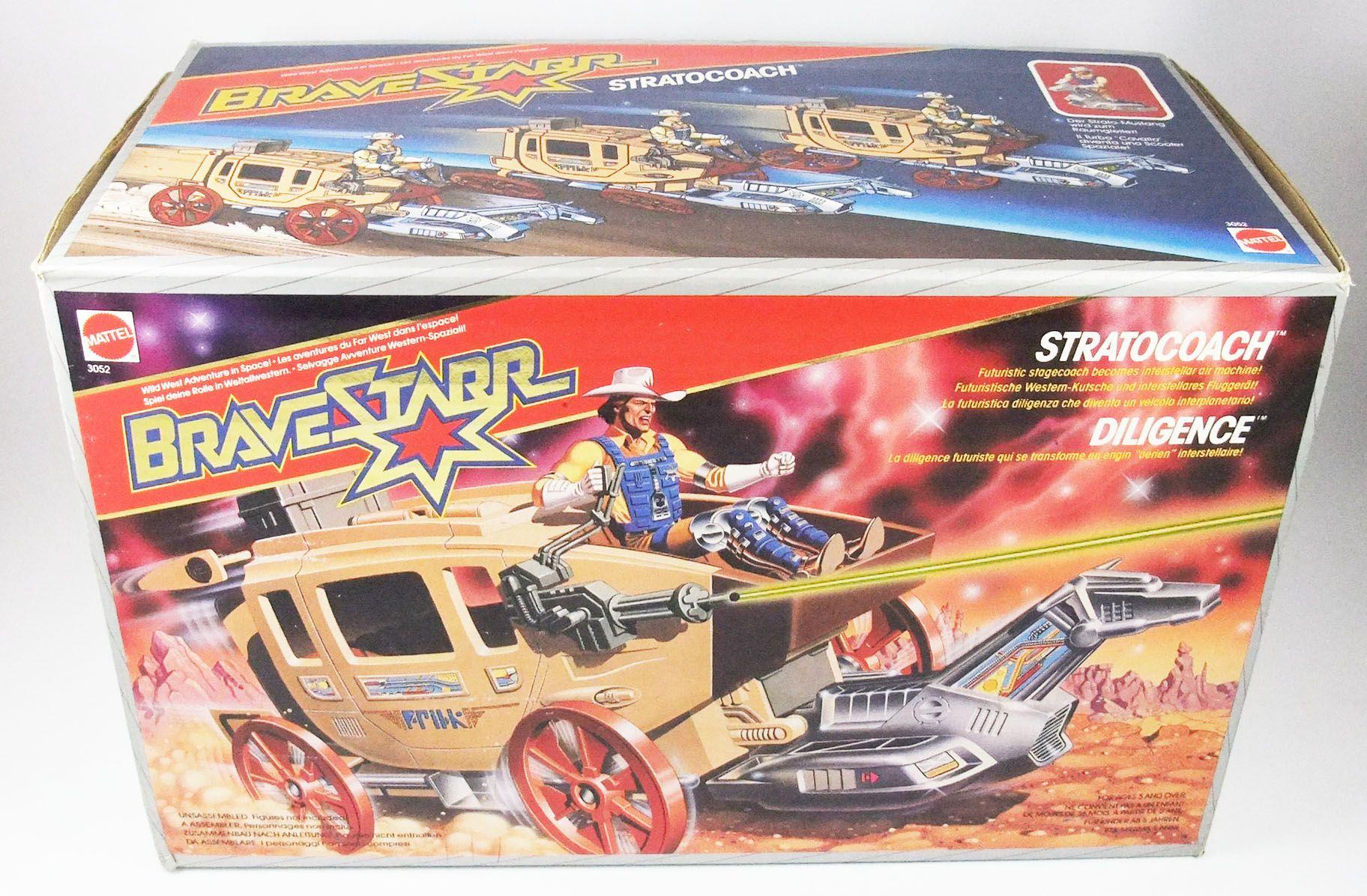 BraveStarr - Stratocoach / La Diligence