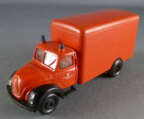 Brekina Ho 1/87 Camion Pompier Magirus Deutz Cargo