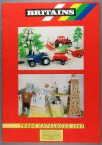 Britains - 1987 Retailer Catalog 24 Color pages A4 & Order Form