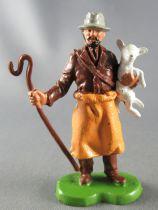Britains - Agricole - Berger avec mouton réf 2045