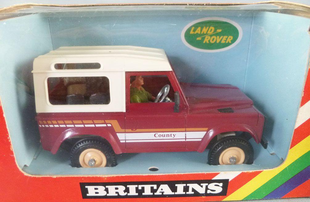 Britains - Agricole - Matériel Land Rover County Neuf en boite (réf 9571)
