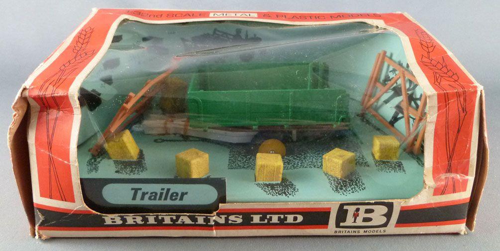 Britains - Agricole - Matériel Remorque  Trailer Neuf en boite (réf 9550)