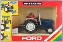 Britains - Agricole - Matériel Tracteur Ford 6600 & Conducteur Neuf en boite (réf 916)