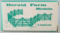 Britains - Agricole (Herald) - Boite de 6 barrières neuves (réf H1718)