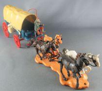 Britains - Cowboy- Chariot Bâché (réf 7616)