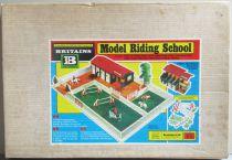 Britains - Equestre - Batiment Ecole Model Riding School Proche Neuf Boite (réf 4714)