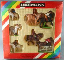Britains - Equestre - Coffret Riding Boxed Set 7 Figurines Neuf Boite (réf 7176)