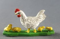 Britains - The Farm - Animals Hen with babies