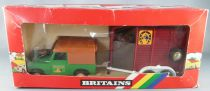 Britains - The Farm - Country Land Rover& Horsebox (ref 9612) (Near Mint in box)
