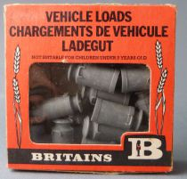 Britains - The Farm - Implement Vehicle Loads Milk Churns (ref 1740) (Mint in Box)