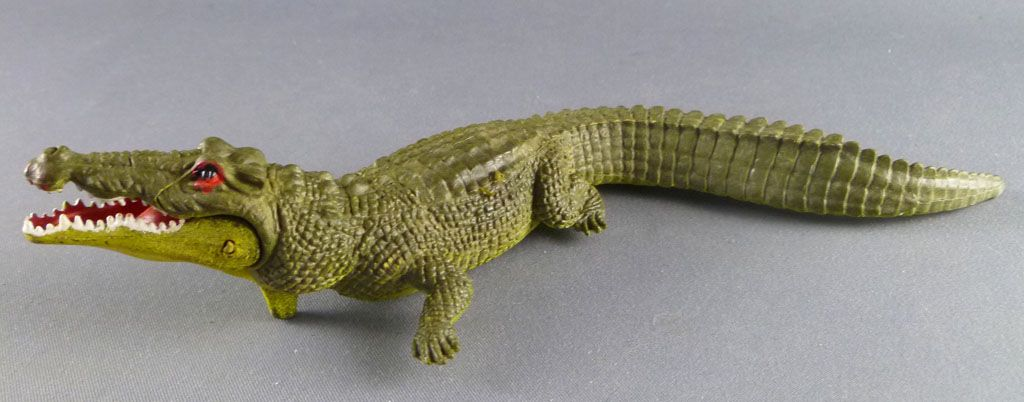 Britains - Zoo - Animals - Crocodile with opening jaws