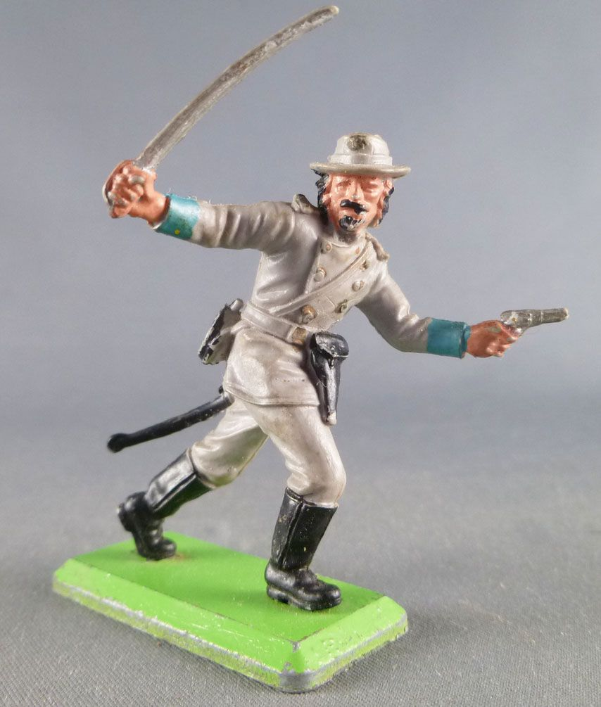 Britains Deetail - Confederate - Footed Officer