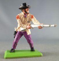 Britains Deetail - Cowboy - Piéton Sheriff Fusil Hanche (crème & mauve)