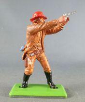 Britains Deetail - Cowboy - Piéton Tireur Revolver à Deux mains