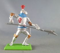 Britains Deetail - Middle-Ages - Knight Footed 2sd series attacking with Halberd