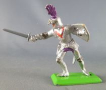Britains Deetail - Middle-Ages - Knight Footed 2sd series attacking with sword 1