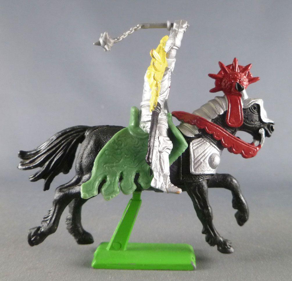 Britains Deetail - Moyen-Age - Chevalier Cavalier 1ère série masse d\'arme