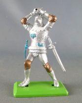 Britains Deetail - Moyen-Age - Chevalier piéton 3ème série épée crantée à 2 mains