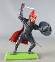 Britains Deetail - Moyen-Age - Turc piéton avancant bras droit levé avec sabre