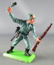 Britains Deetail - WW2 - Allemand - 1ère série Fusil & Grenade Etat Neuf