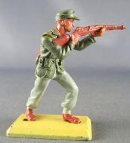 Britains Deetail - WW2 - Allemand - Afrika Corps - Tireur fusil debout Etat Neuf